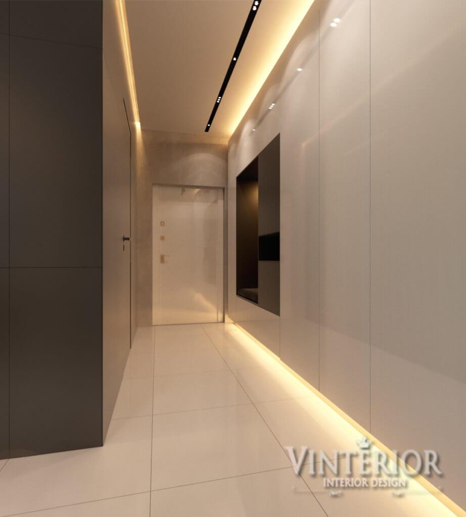 Квартира 1-комнатная, ул. Армянская, г. Киев (2 вариант)