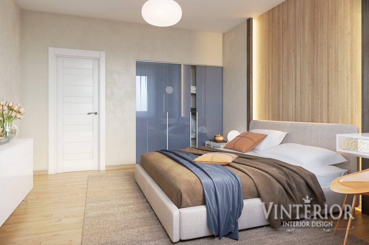 Квартира 2-х комнатная, ЖК «Лесной Квартал», г. Бровары (2 вариант спальни)
