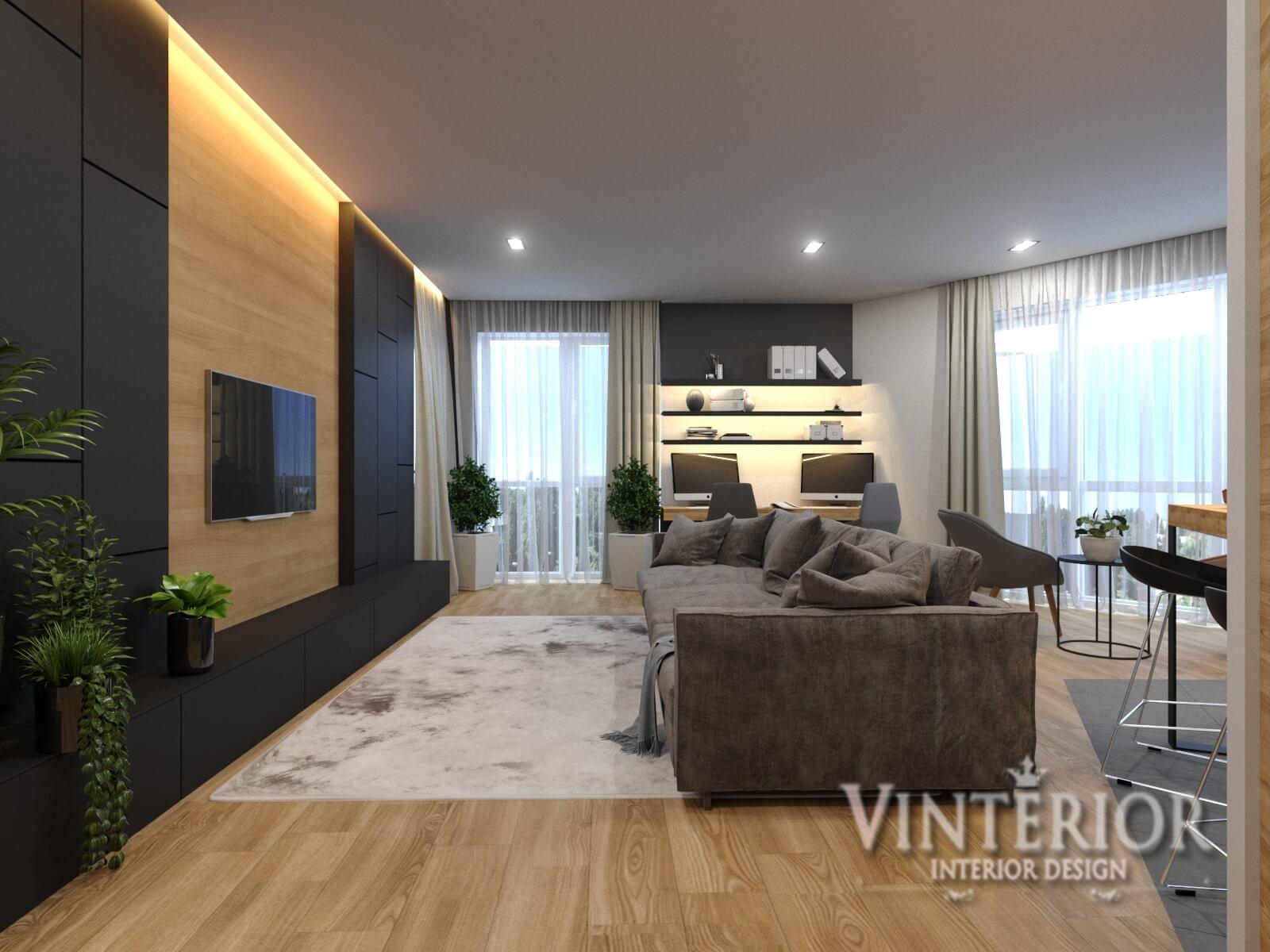 Квартира 3-х комнатная, ЖК «Квартет», г. Киев (2 вариант)