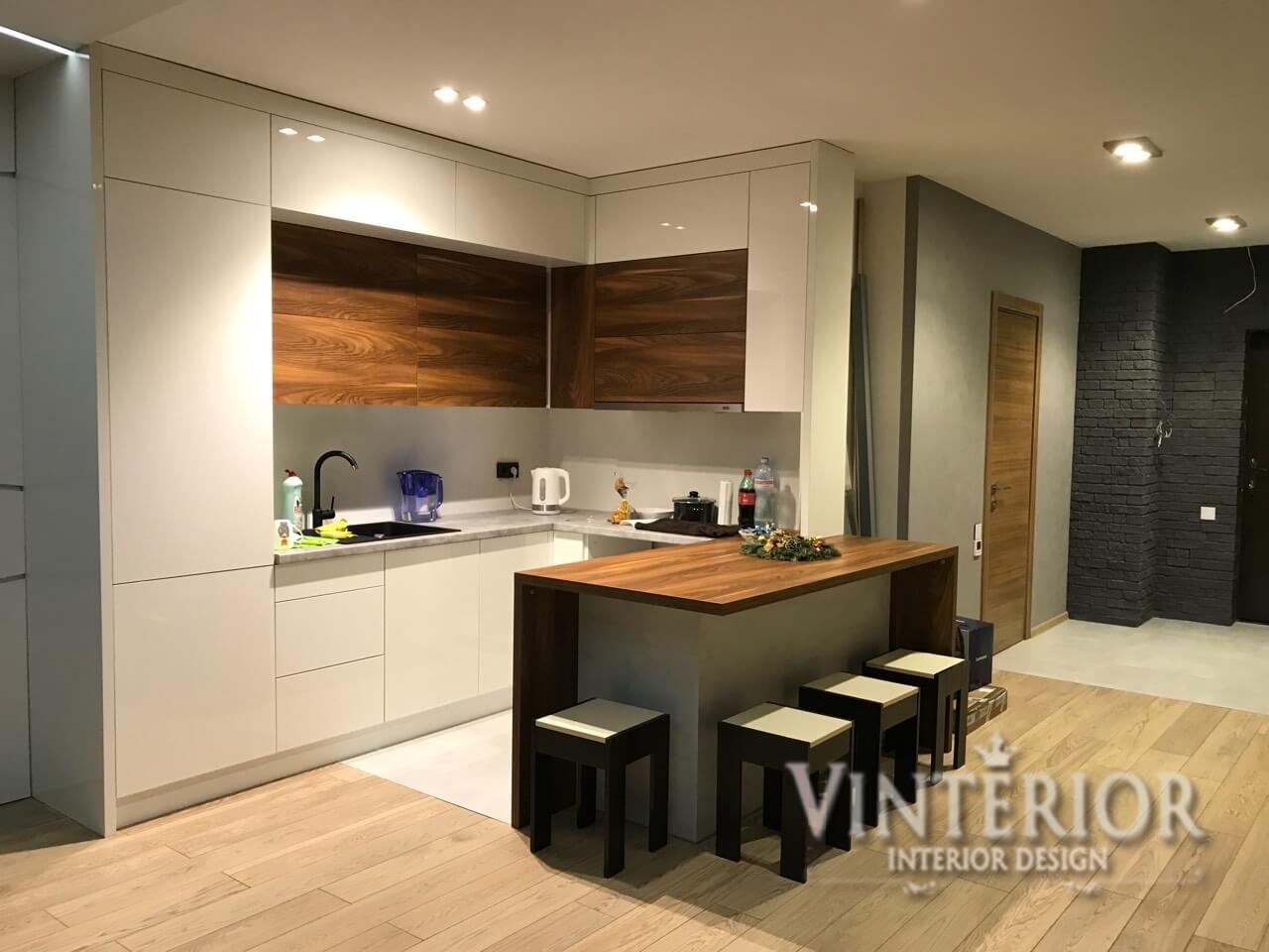 Реализованный проект, 1-комнатная квартира, ЖК «Киевская Венеция», г. Киев